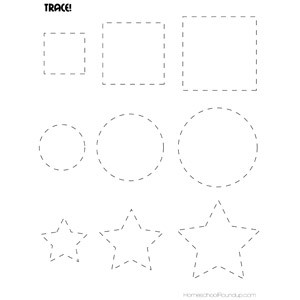 Printable Shape Tracing